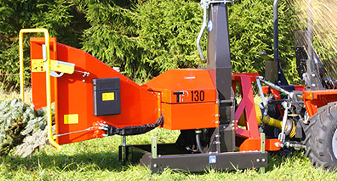 Linddana TP 130 PTO Chipper Mulcher Wood Chipper