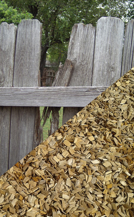 Mobile wood chipping service Melbourne