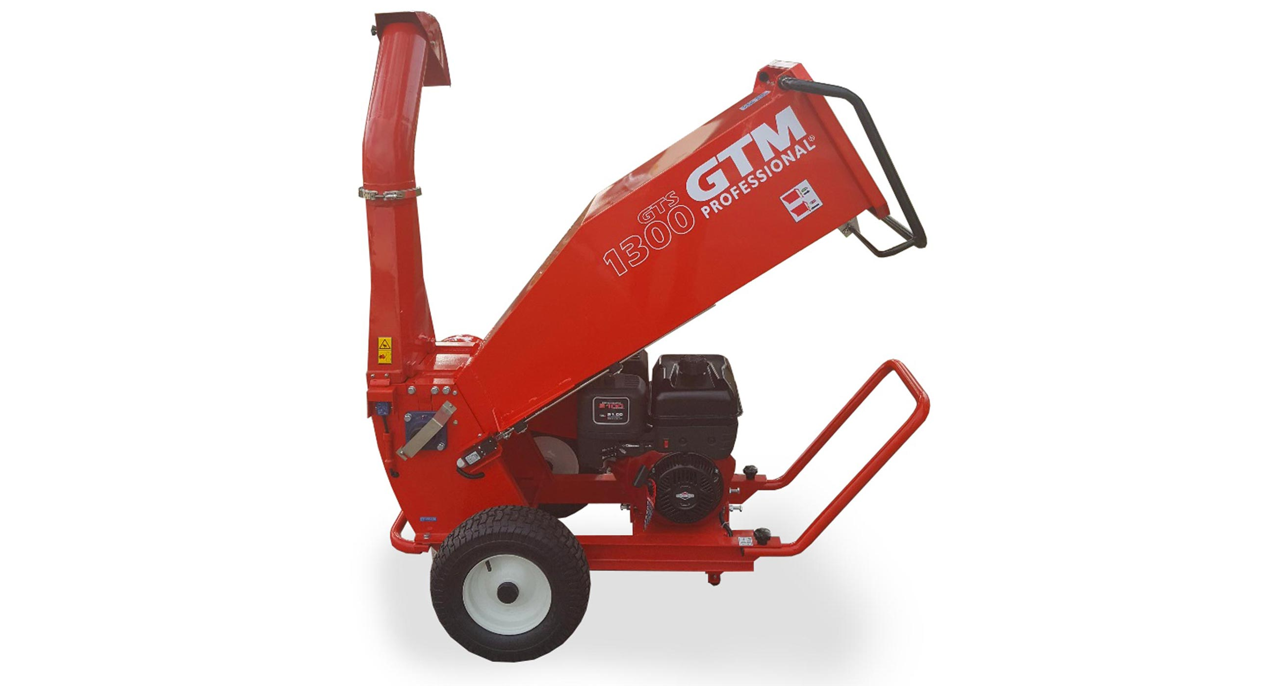 GTM Professional GTS 1300 Advanced Mulcher Chipper