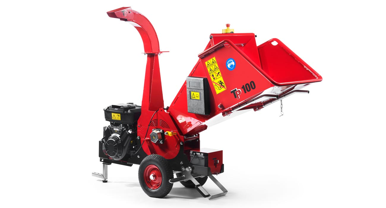 Linddana TP 100 Mobile Chipper Mulcher