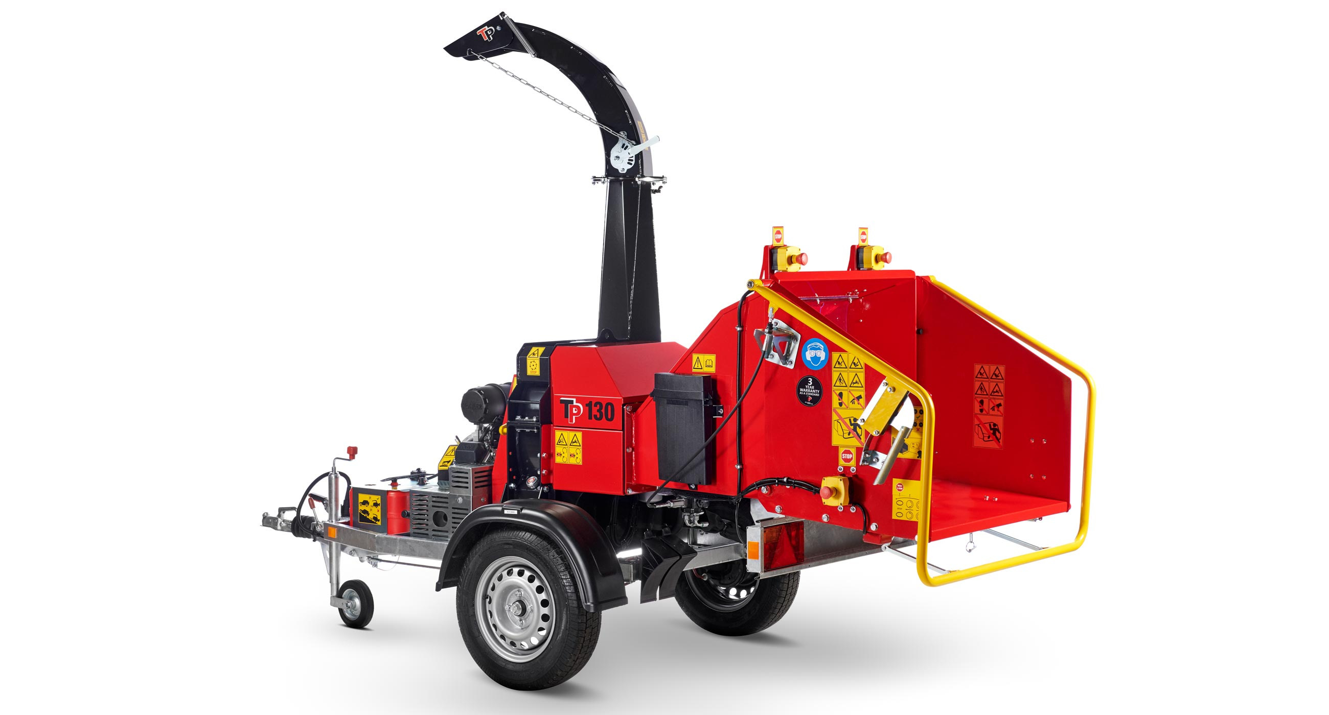Linddana TP 130 Mobile Chipper Mulcher