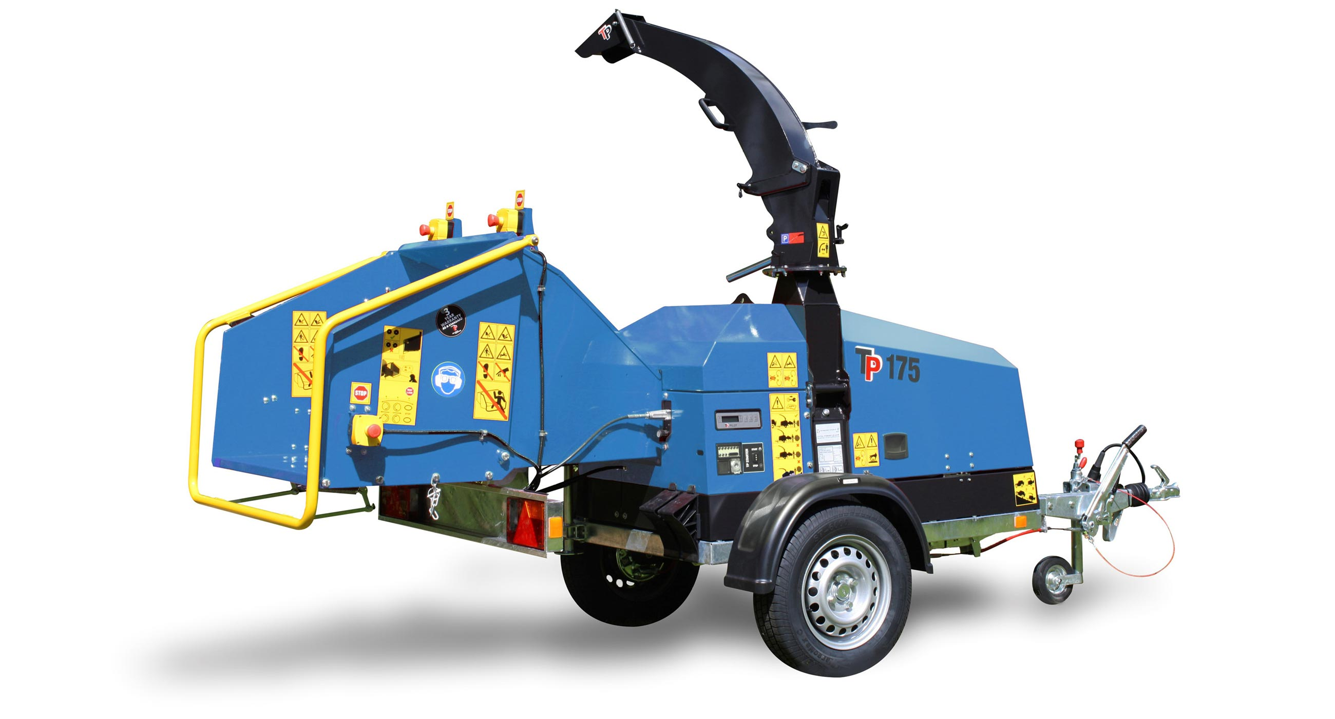 Linddana TP 175 Electric Chipper Mulcher