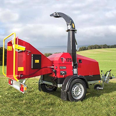 Linddana TP 175 Mobile Chipper Mulcher Woodchipper