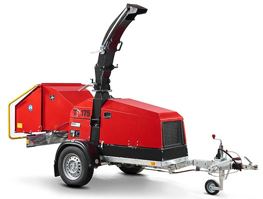 Linddana TP 175 Mobile Chipper Mulcher for sale