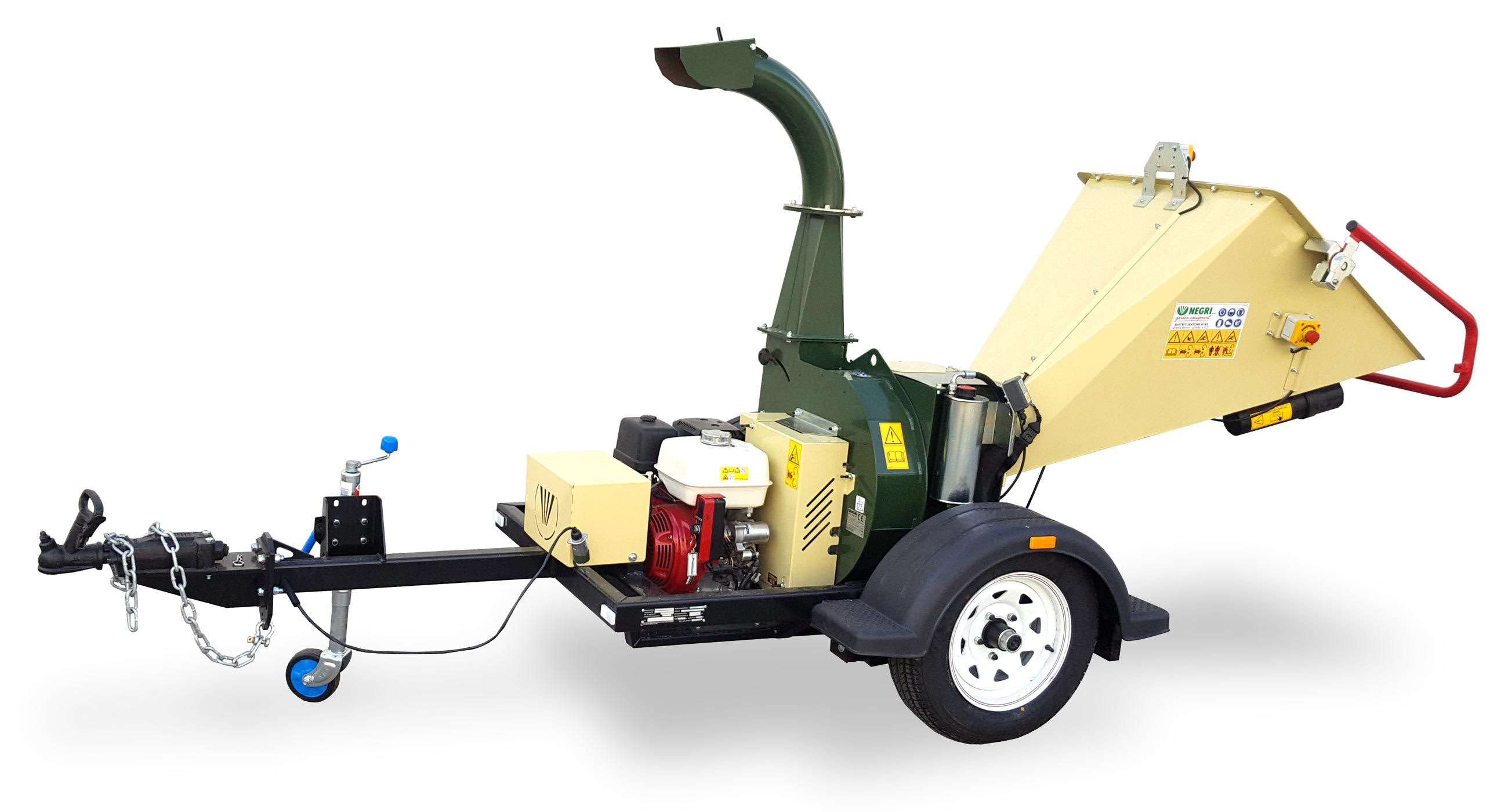 Negri R185 Road Towable Chipper Mulcher