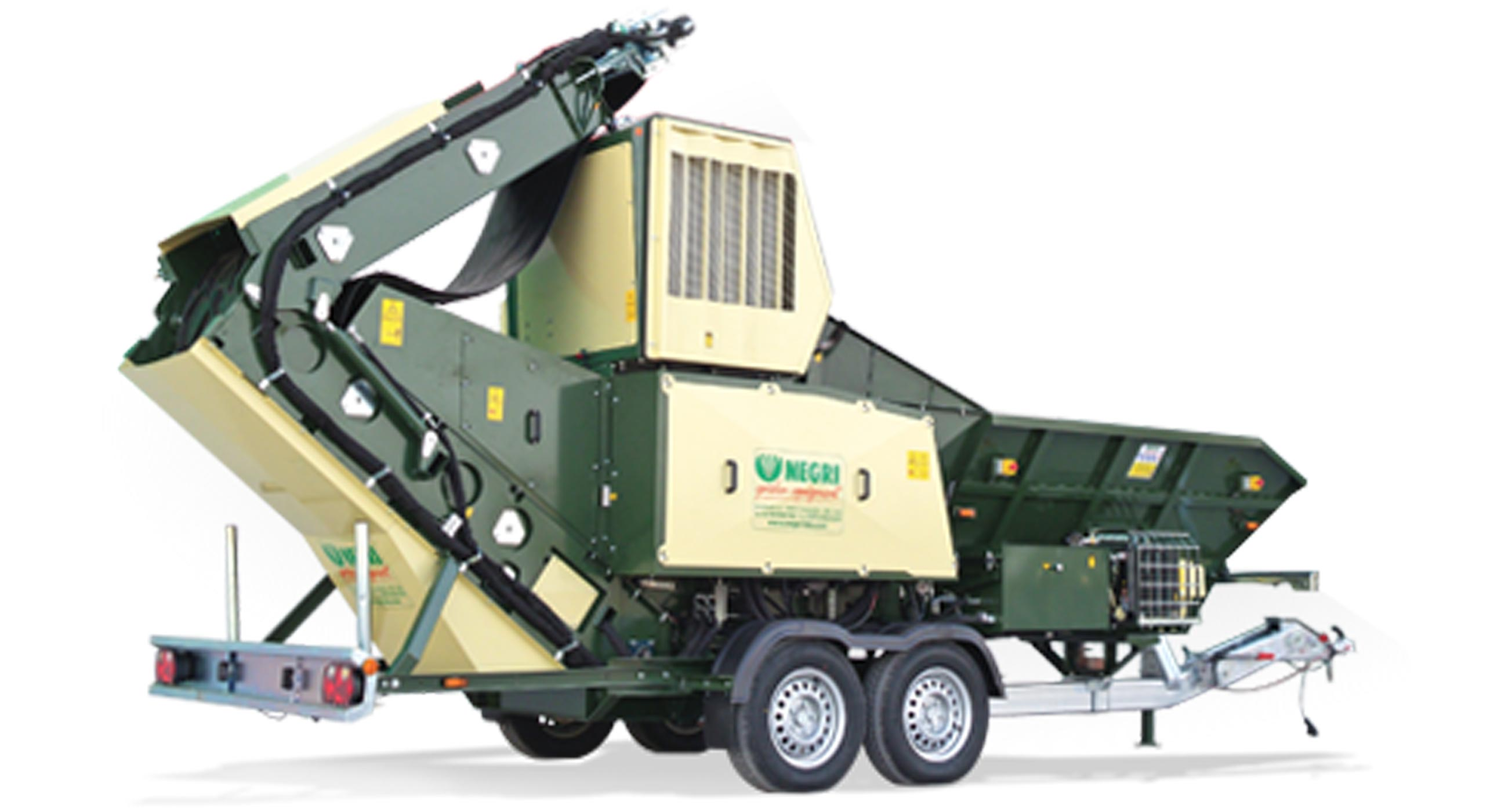 Negri R640 Bioshredder Chipper Mulcher
